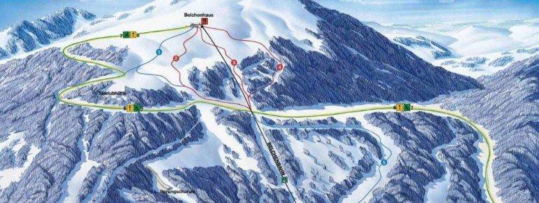 Trail Map Belchen