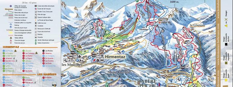 Trail Map Hirmentaz - Les Habères