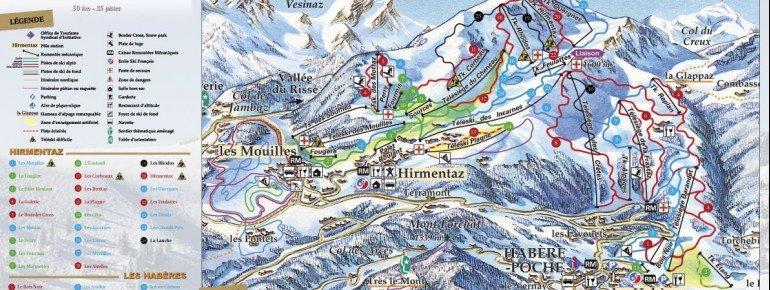 Trail Map Bellevaux