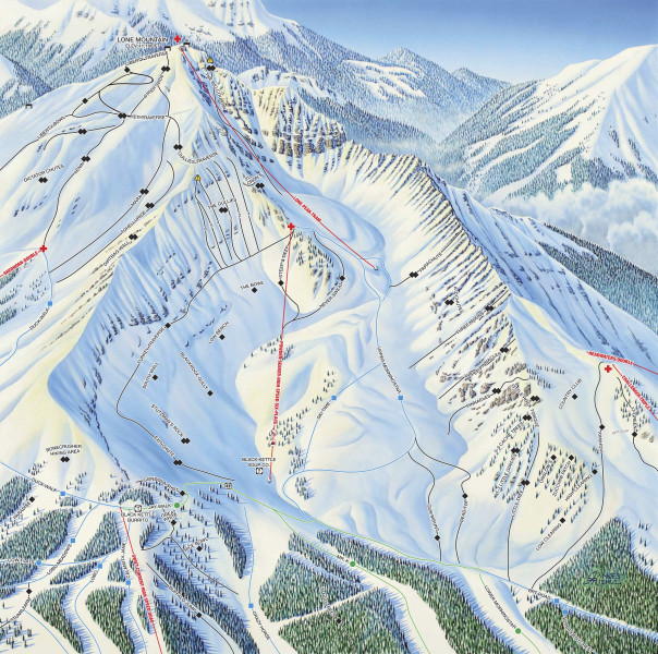 Big Sky Resort • Ski Holiday • Reviews • Skiing