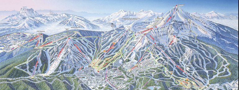 Trail Map Big Sky Resort