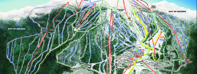 Trail Map Big White Ski Resort