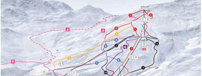 Trail Map Bivio