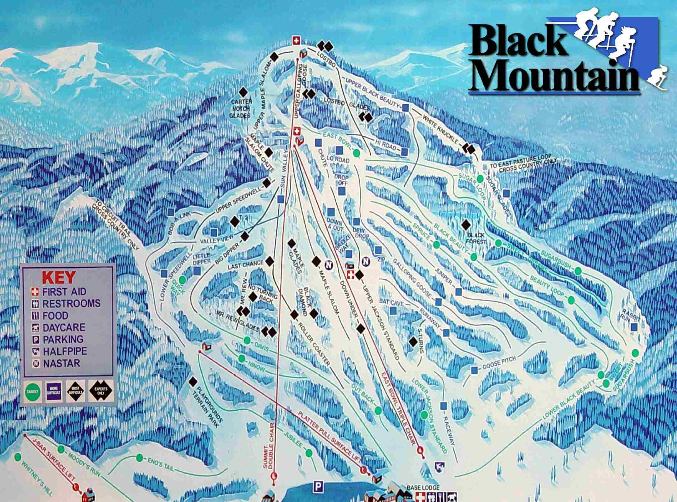 Colorado Ski Mountains Map Image Gallery Hcpr