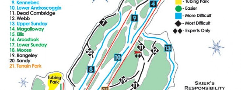 Trail Map Black Mountain