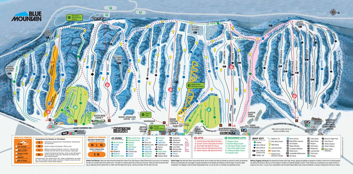 Blue Mountain Resort Ski Holiday Reviews Skiing