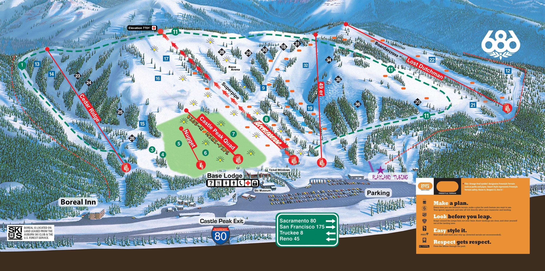 boreal mountain resort • ski holiday • reviews • skiing