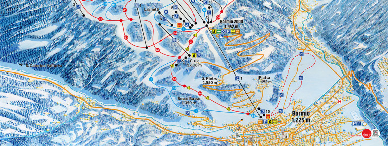 Trail Map Bormio