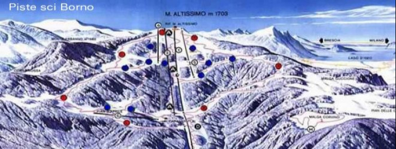 Trail Map Borno Monte Altissimo
