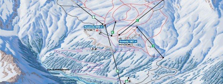Trail Map Bosco Gurin