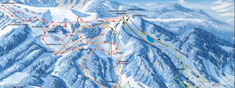 Trail Map Brauneck