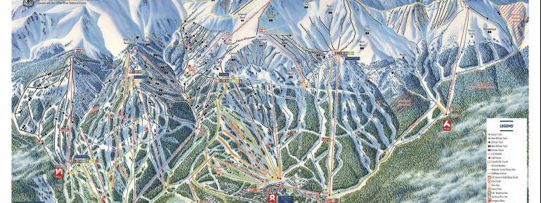 Trail Map Breckenridge