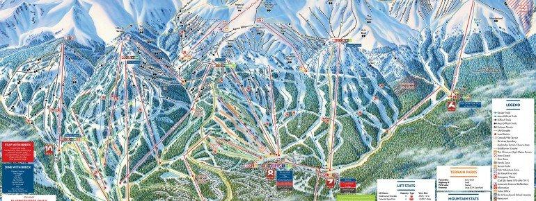 Trail Map Breckenridge