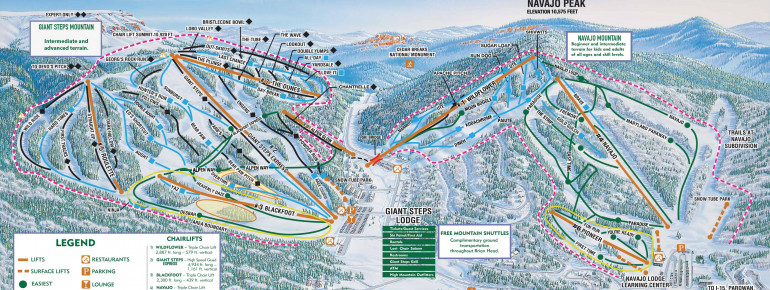 Trail Map Brian Head Resort