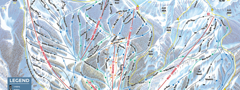 Trail Map Brighton Ski Resort