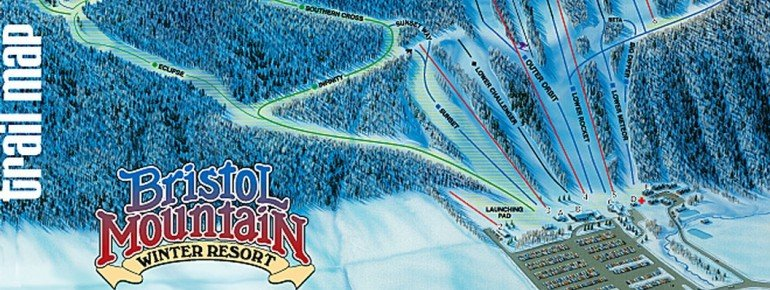 Trail Map Bristol Mountain Ski Resort