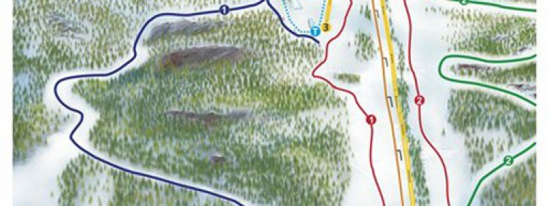 Trail Map Brokke