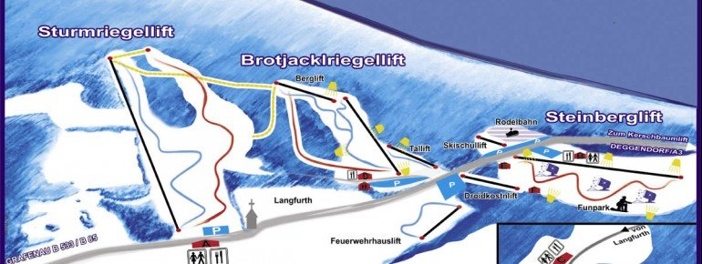 Trail Map Brotjacklriegel