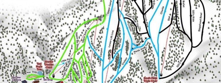 Trail Map Caberfae Peaks Ski And Golf Resort