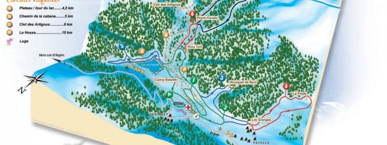 Trail Map Campan Payolle