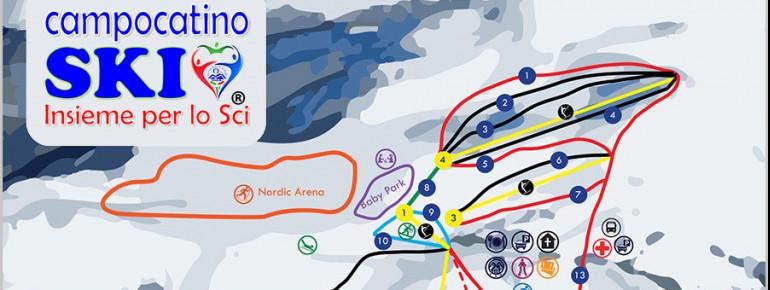 Trail Map Campo Catino Ski Resort