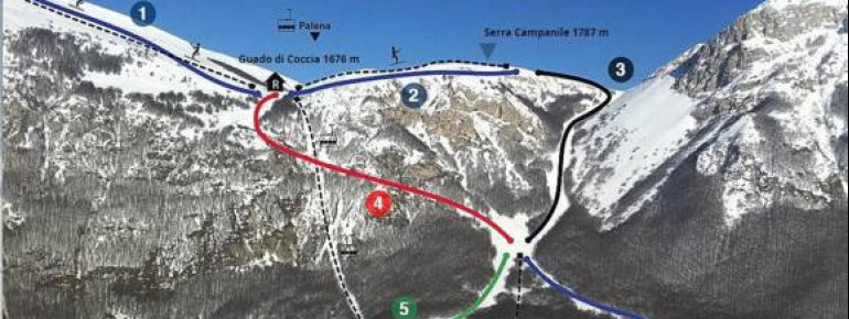 Trail Map Campo di Giove