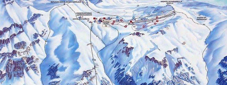 Trail Map Campo Imperatore - Gran Sasso