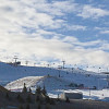 Panoramic view of the Winsport Canada Olympic Park (COP) resort.