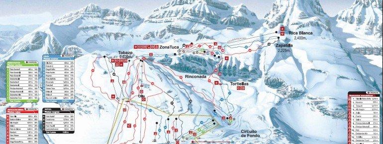 Trail Map Candanchu