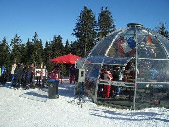 Ski bar Bombardino