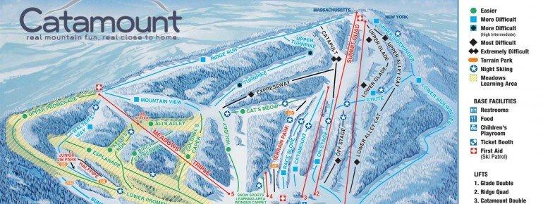 Trail Map Catamount Ski Area