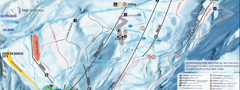 Trail Map Cauterets