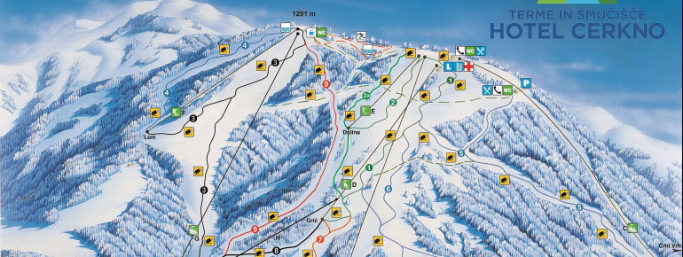 Trail Map Cerkno