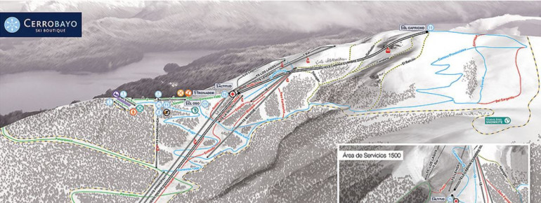 Trail Map Cerro Bayo