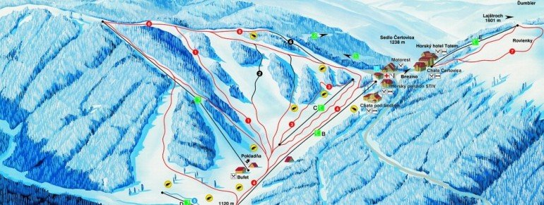 Trail Map Certovica