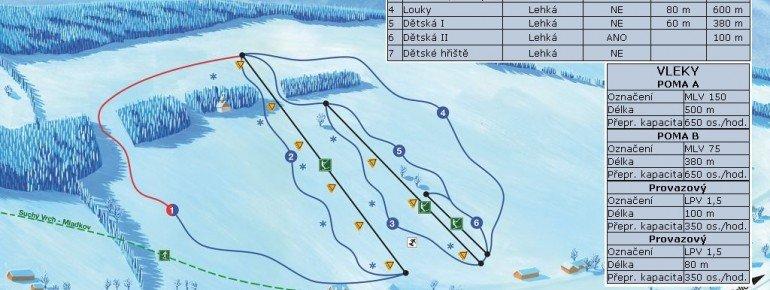Trail Map Ceske Petrovice