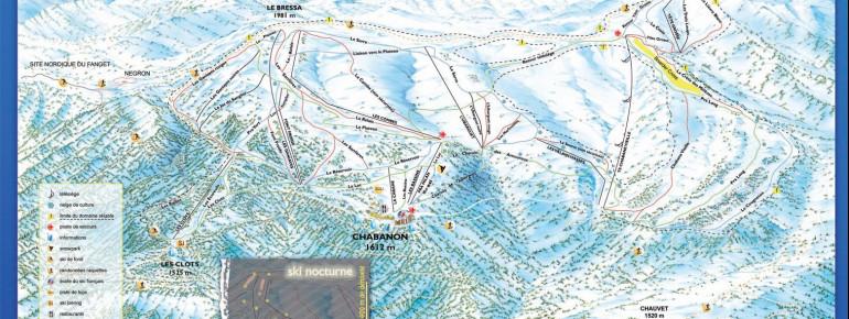 Trail Map Chabanon Selonnet
