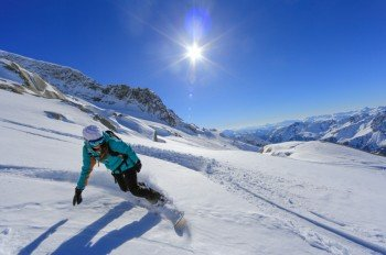 Les Grand Montets offers glacier skiing