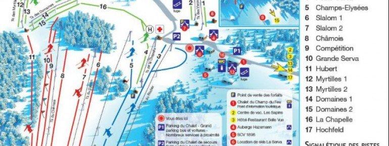 Trail Map Champ du Feu