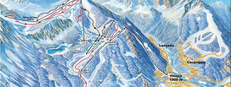 Trail Map Chiesa in Valmalenco