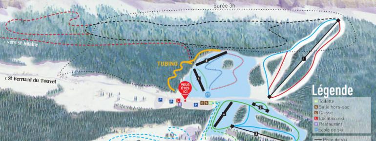 Trail Map Col de Marcieu