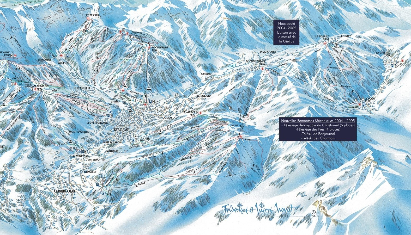 combloux megeve stgervais • ski holiday • reviews • skiing