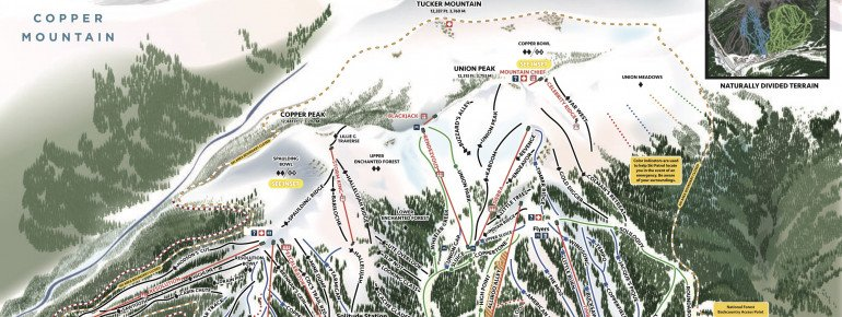 Trail Map Copper Mountain