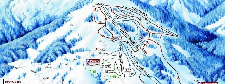 Trail Map Cordon