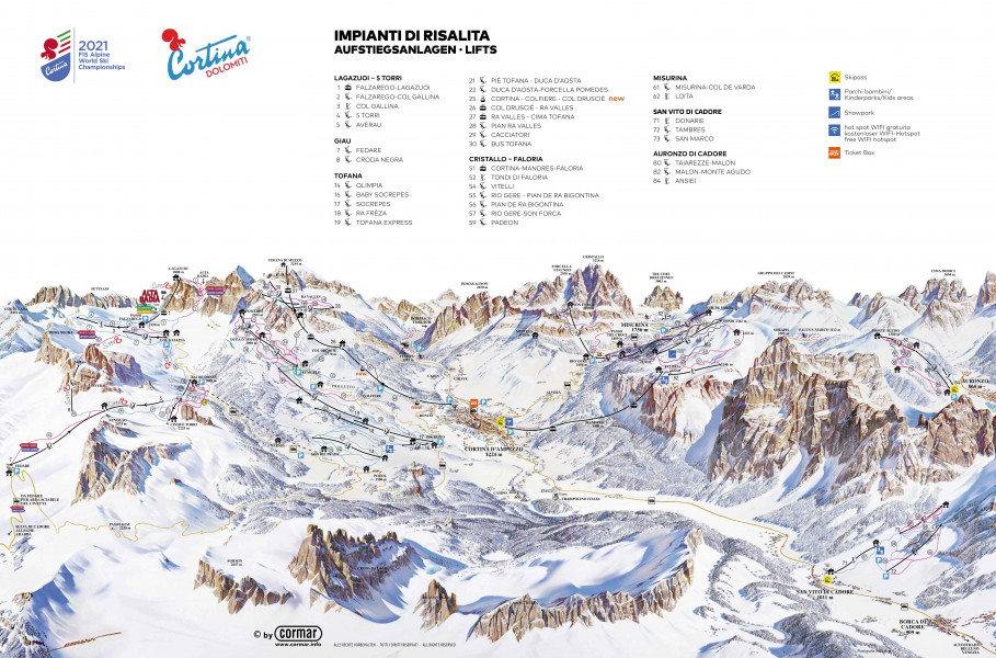 Cortina Express Venezia Cortina.Cortina D Ampezzo Ski Holiday Reviews Skiing