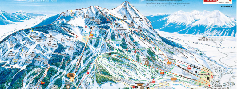 Trail Map Crested Butte