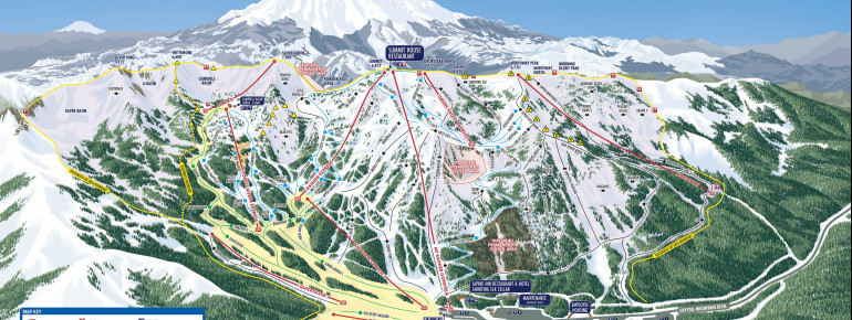 Trail Map Crystal Mountain Resort