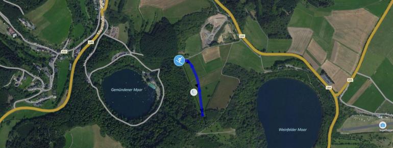 Trail Map Daun Mäuseberg