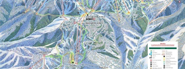 Trail Map Deer Valley