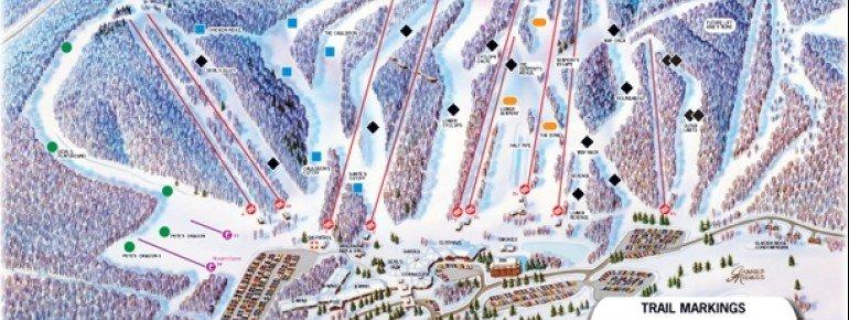 Trail Map Devils Head Resort